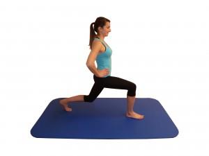 Kniebeugen Schrittstellung Übung 1 Ende